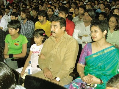 Kamal Hassan with his family