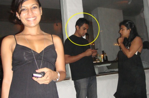 Me (the decoy), Aamir Khan's doppleganger & a girl who just had to take a closer look!