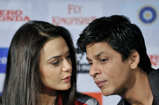 Preity Zinta and Shah Rukh Khan