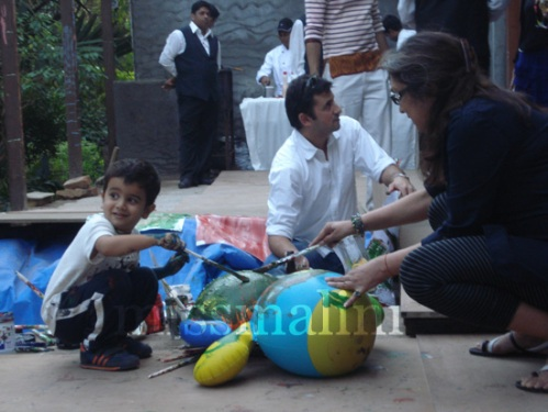 Satya Nanda and Nirja Shah