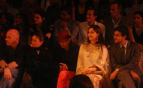 Celebrity Front Row