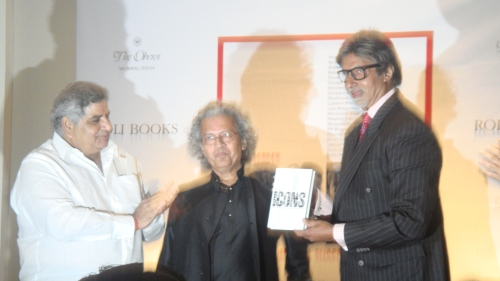 Pramod Kapoor, Anil Dharkar and Amitabh Bachchan