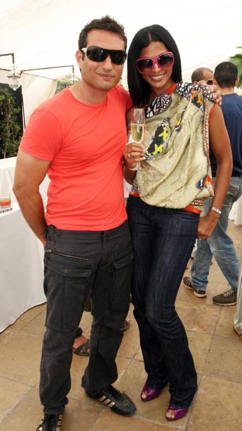 Homi Adajania and Nina Manuel