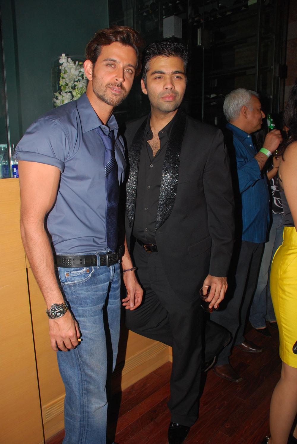 Hrithik Roshan & Karan Johar