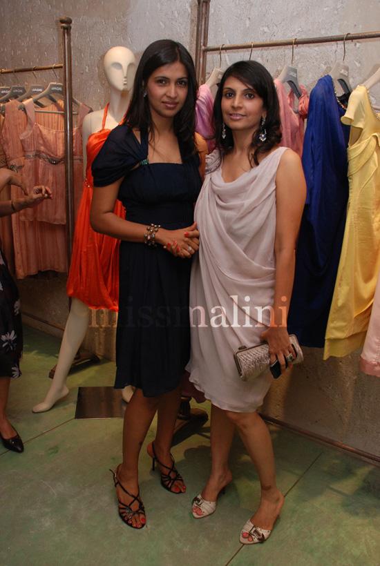 designers Karishma Swali and Amrita Shah