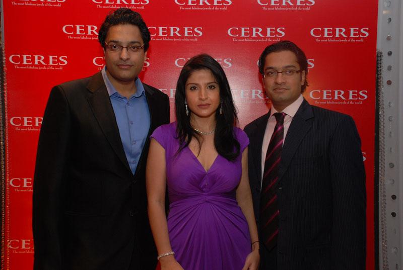 Nitin Goenka, Maheep Kapoor and Navneet Goenka
