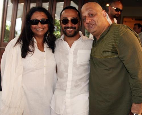 Malini Akerkar, Rahul Bose & Rahul Akerkar