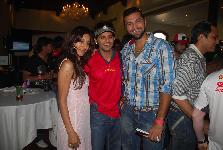 Teejay Siddhu and her husband Manoj Bohra & Chetan Hansraj