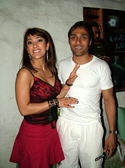 Koel Puri and Rahul Bose