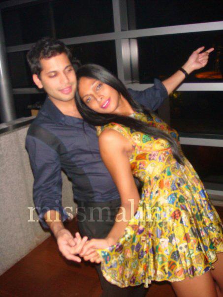 Luv Shah and Nina Manuel