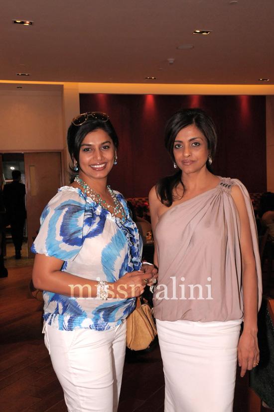 Pinki Reddy and Chaya Momaya