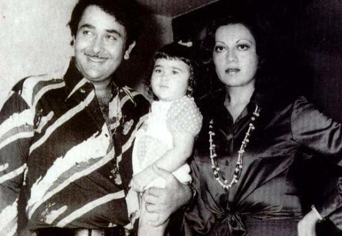 Randhir, Karishma and Babita Kapoor