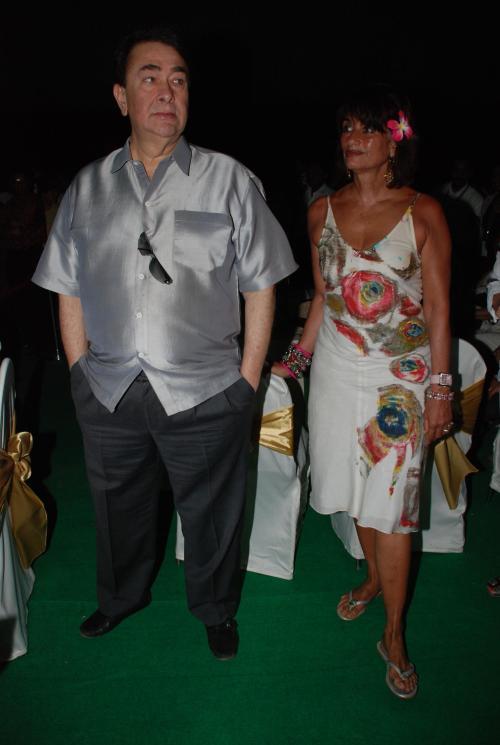 Randir Kapoor and Ester Daswani