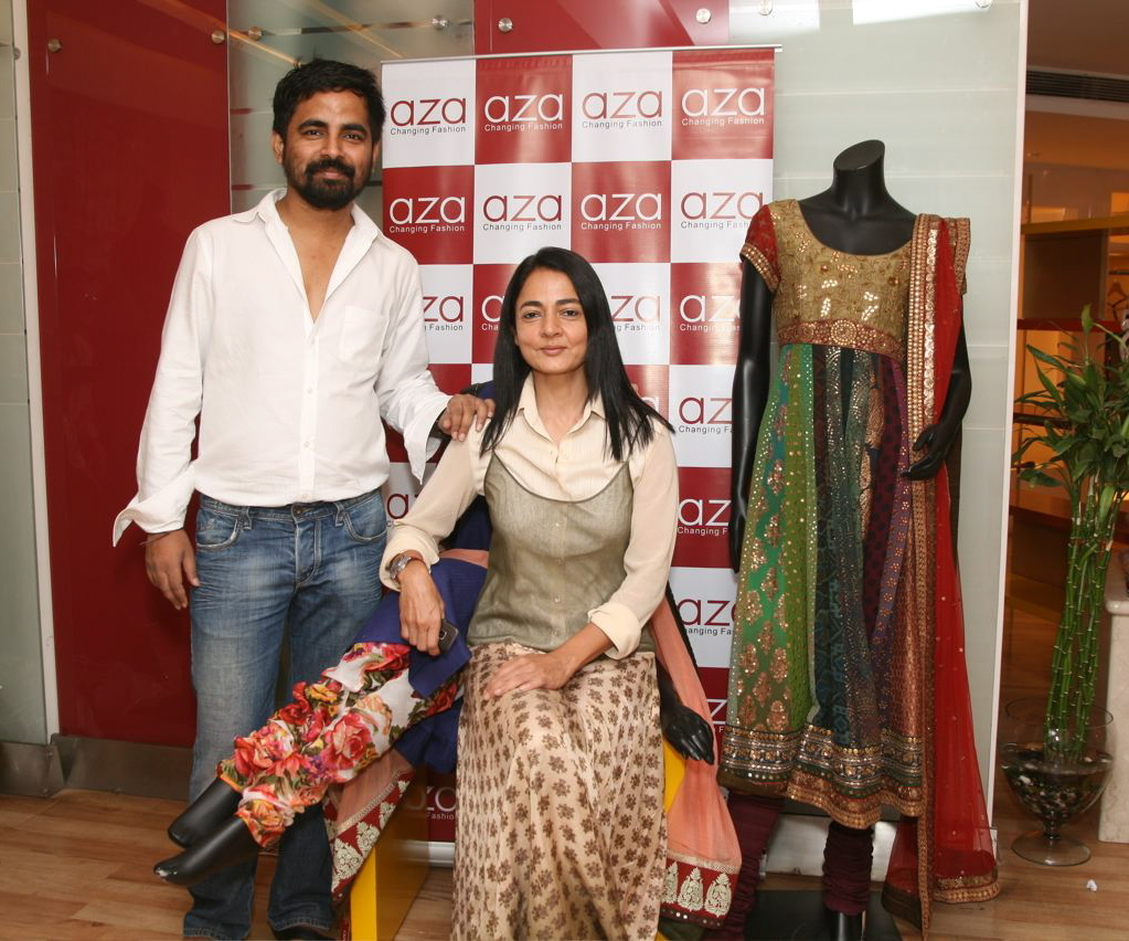 Sabyasachi and Sabina Chopra