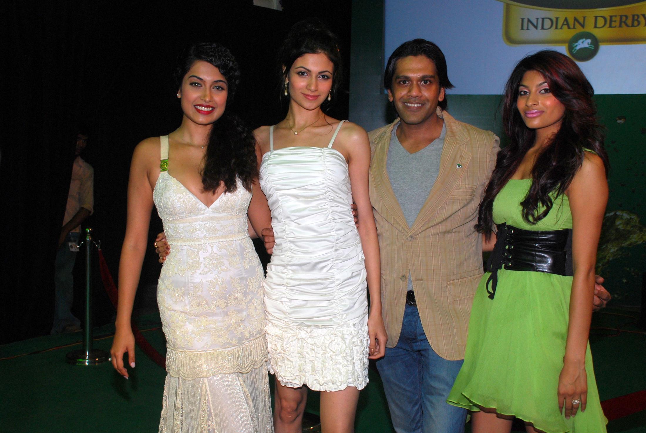 Sarah Jane, Simran Kaur mundi with Rocky S.