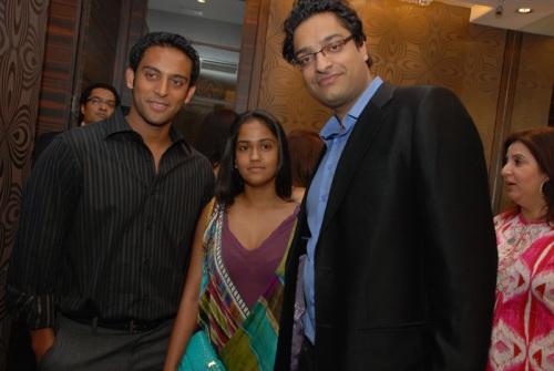 Sunny Sara, Arpita Khan & Nitin Goenka