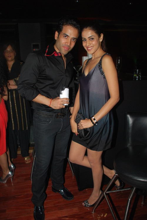 Tusshar Kapoor and Genelia D'souza