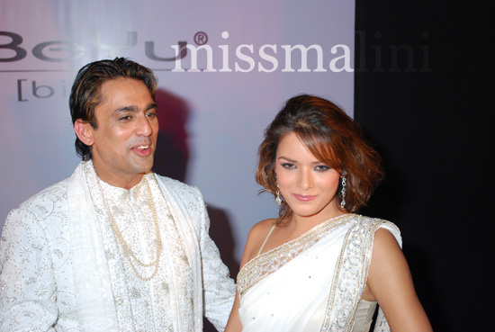 Udita Goswami was the show stopper for the fashion show