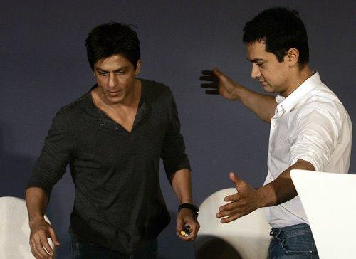 Aamir Khan & Shah Rukh Khan together for a cause