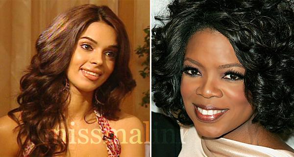Mallika Sherawat and Oprah Winfrey