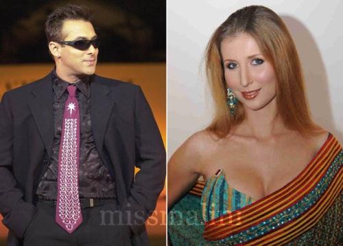 Salman Khan and Claudia Ciesla