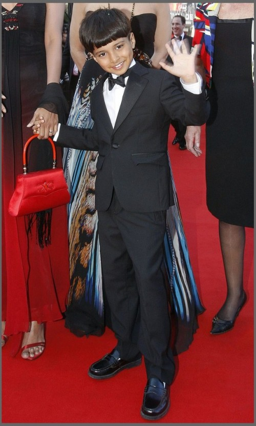 """Slumdog Millionaire"" actor Ayush Manesh Khedekar"