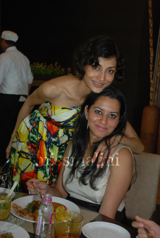 Akanksha Nanda with Gayatri Khanna