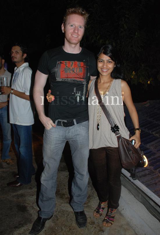 Alex O'Neil and Shweta Kesvani