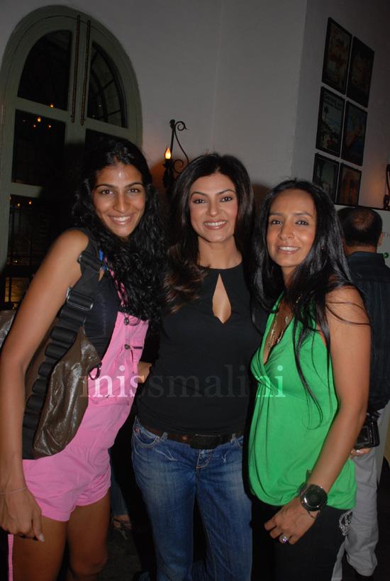 Anushka Manchanda, Sushmita Sen and Suchitra Pillai