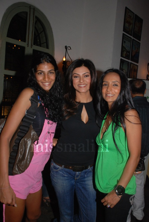 Anushka Manchanda, Sushmita Sen and Suchitra Pillai