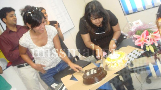 Me & Prachi (on Radio One's eveing drive) share a birthday