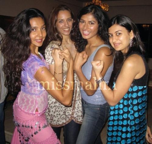 Fatima Najm, Benita Pherwani, Priyanka A. Shah and Namrata Tanna Mody