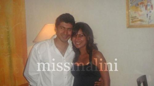 Prashant Chaudhari and missmalini