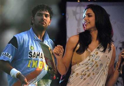Yuvraj and Deepika