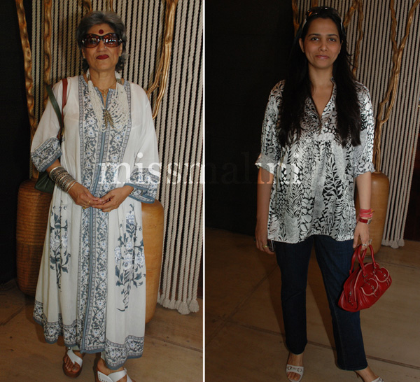 Roopa Vohra and Dolly Thakore