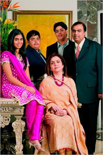 mukeshambanifamily