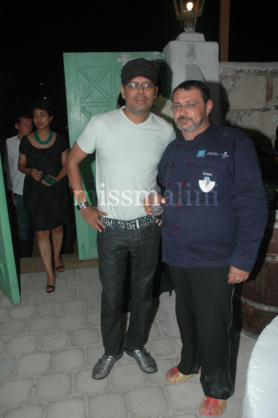 Narendra Kumar and Chef Max