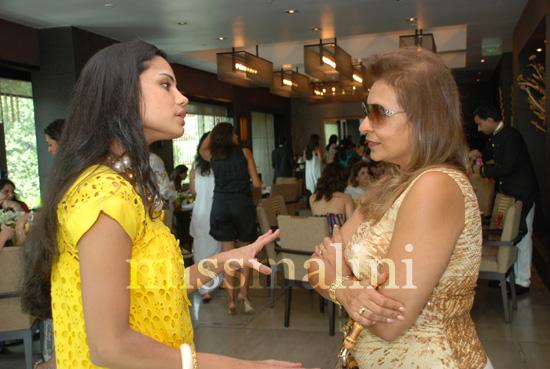 Pratima Bhatia with Naaz Zaveri
