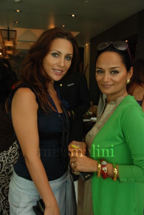 Rosa Catalano with Bandana Tewari