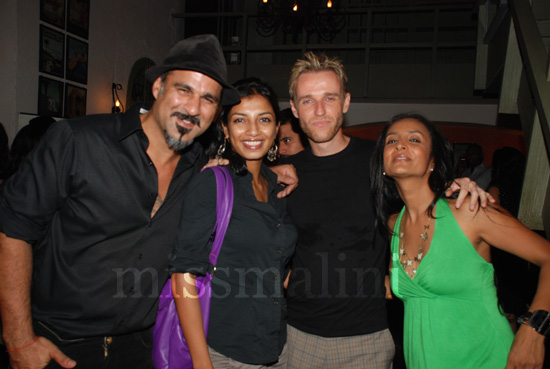 """Sameer """"Daddy"""" Malhotra, with Mikey MCleary and Suchitra Pillai"""