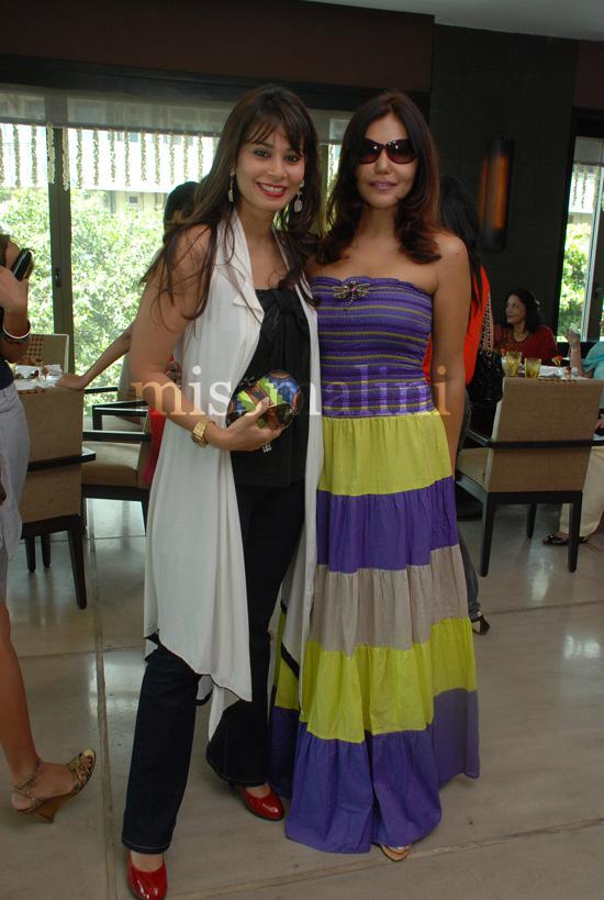 Shaheen Abbas with Nisha JamVwal