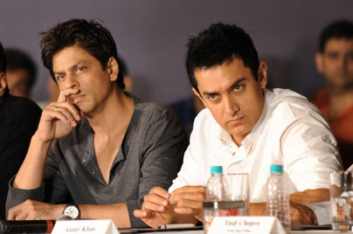 Shah Rukh Khan and Aamir Khan