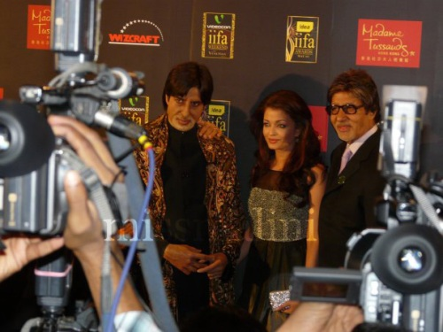 Amitabh and Aisw Bachchan