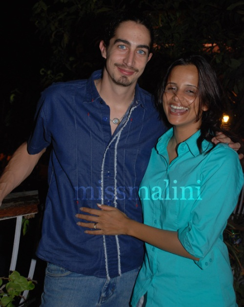 Adam Bedi and Nisha Harale