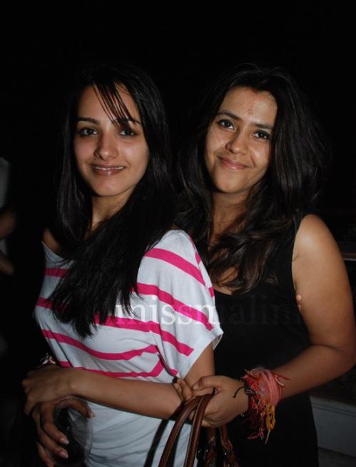 Anita Hassanandani and Ekta Kapoor