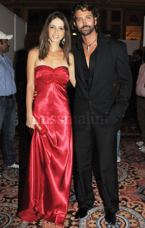 Suzzane and Hrithik Roshan
