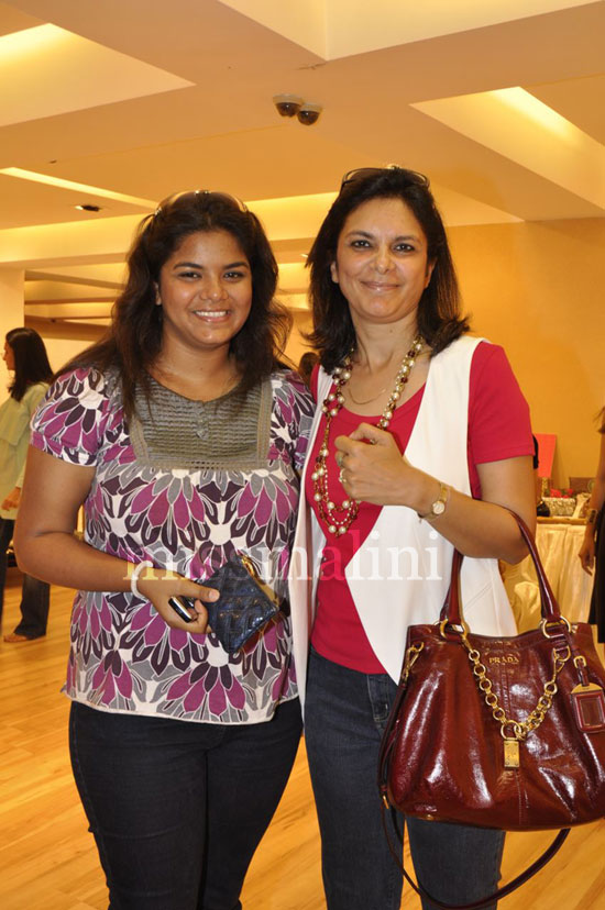 Malini Agarwalla & Daughter