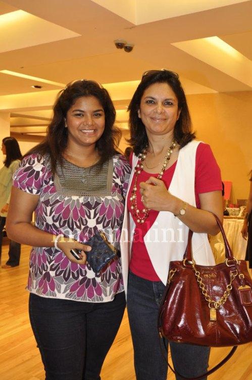 Malini Agarwalla & Daughter