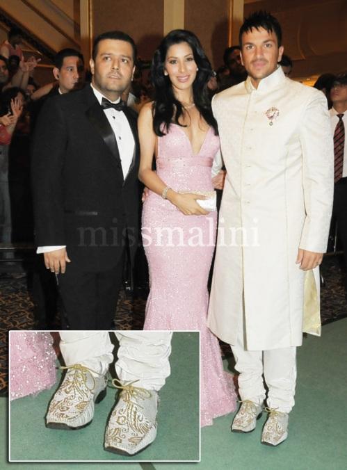Manav Gangwani, Sophie Choudry and Peter Ander