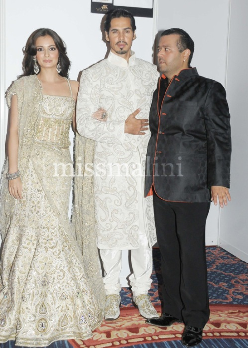 Diya Mirza, Dino Morea and Manav